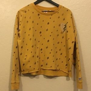 Target Junk Food Yellow Pullover Large